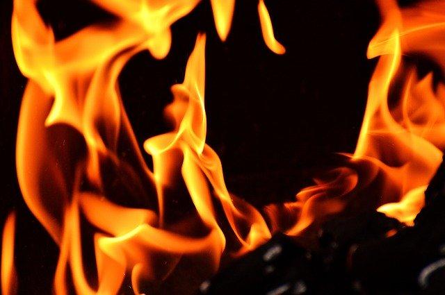 offene Flamme